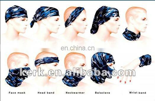 LSB52 Newest Style Multifunctional Seamless Bandana Fashionable 100% polyester headwear multifunctional tube headwear