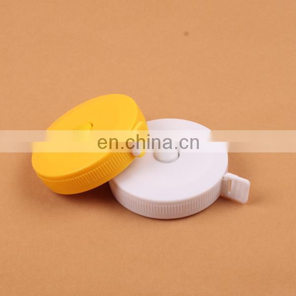 round novelty plastic tape measure
