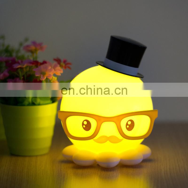 Christmas LED Octopus Light, Lamp, Wall Lamp, Table Lamp