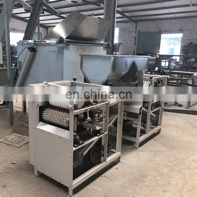 New design wet peanut machine High Efficient Wet type almomd peeling machine