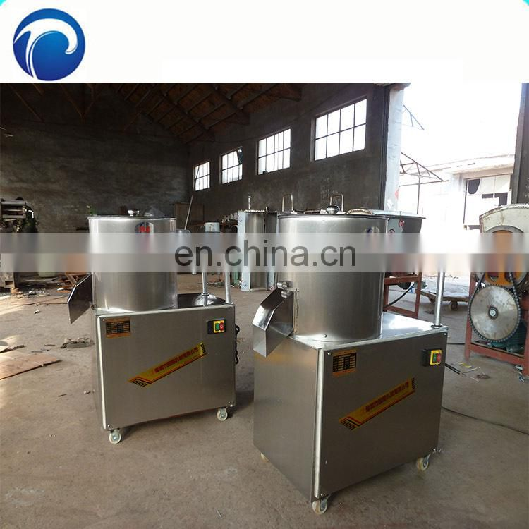 Cheap semi-automatic potato chips production line/frozen french fries production