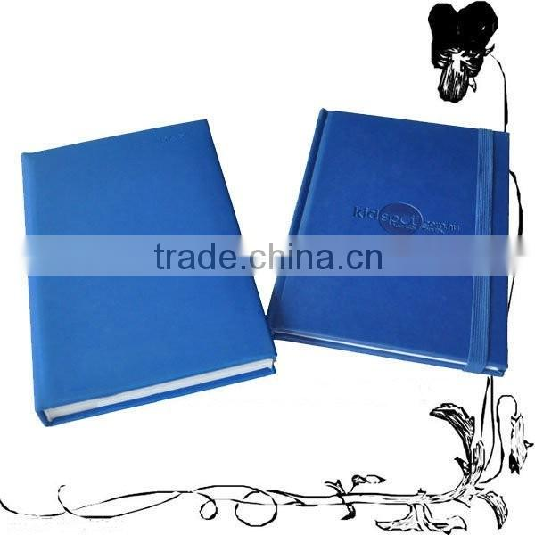 offset printing high quality custom nice emboss cover moleskin notebook