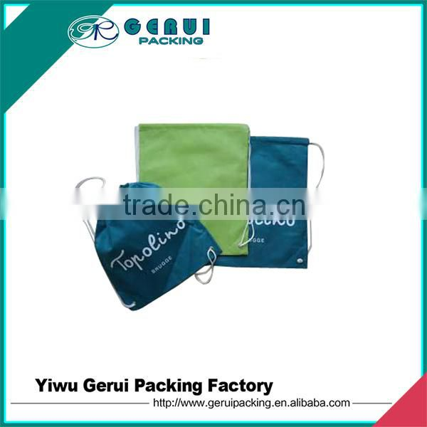 Promotional 210D Polyester Drawstring Bag
