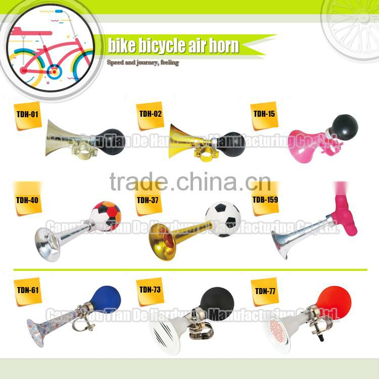 beauty gift plastic bike horn air horn for beer cup beer mug bell colourful bicycle accessories