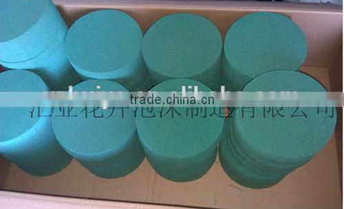 Round circle cylinder shape customized shape floral foam Box Plate