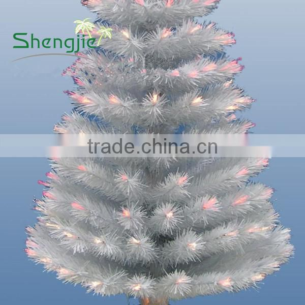 wholesale artificial white christmas stick tree, outdoor artificial christmas tree