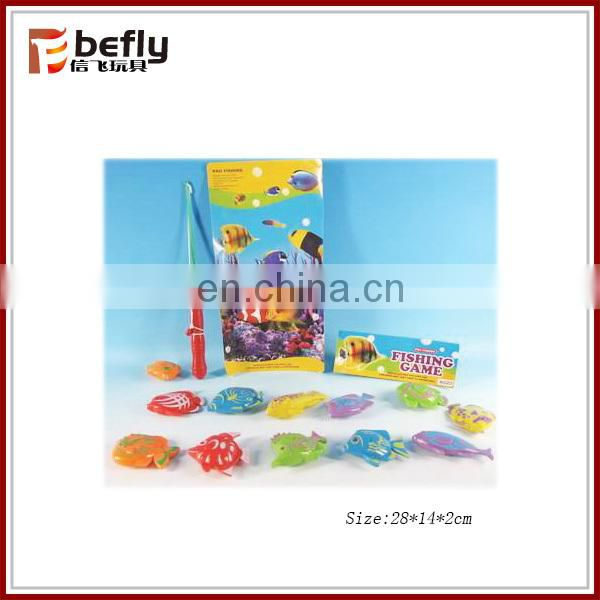 Cheap plastic kids magnetic fish game