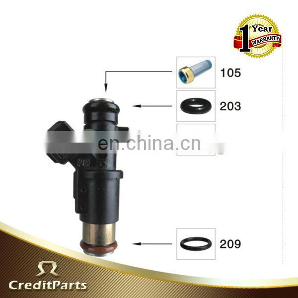 fuel injector kit CF-013 includes seal,filter and oring