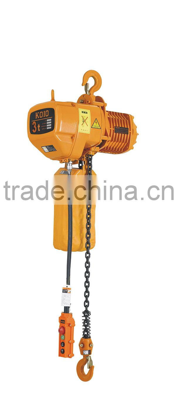 Factory direct sale no spark stainless steel 1 ton electric chain hoist