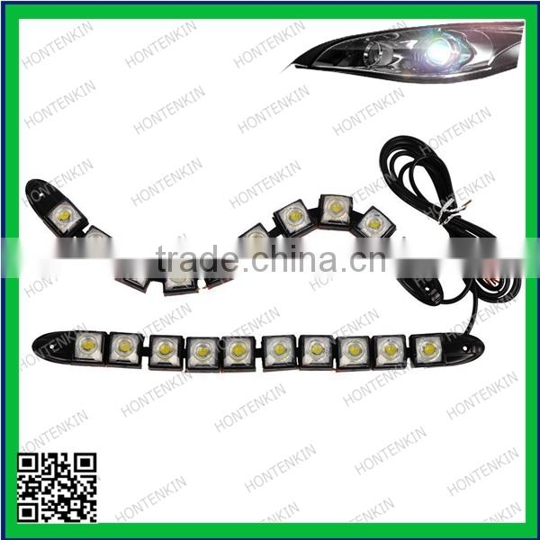 factory price 6pcs smd 5050 led flexible strip for any cars on headlight,warning light,frontfog lamp