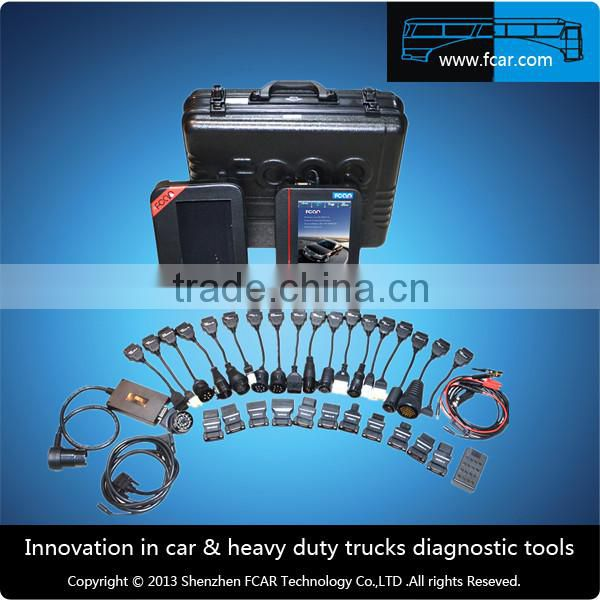 High Quality And Reliability FCAR F3-G For Heavy Duty Truck & Car Engine Diagnostic Computer ,tester diagnostic auto