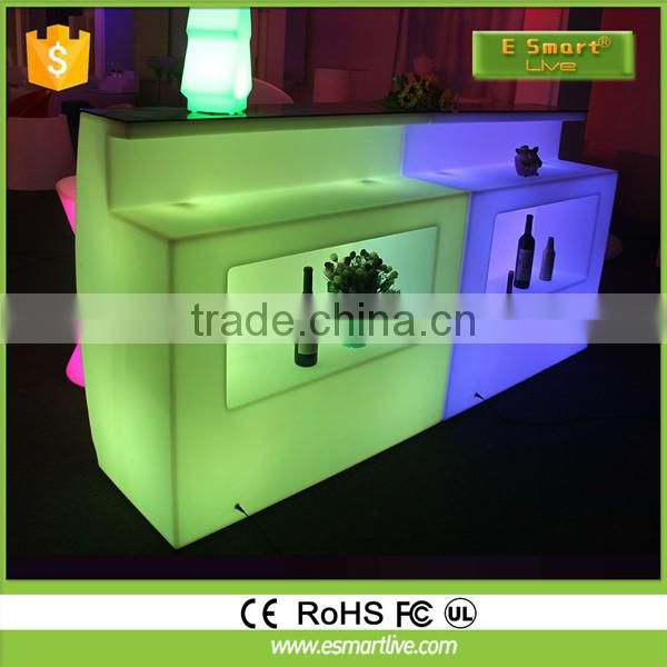 Small bar counter home/white led bar counter design/small bar counterWhite Led Bar Counter DesignLed Bar Table For Sale