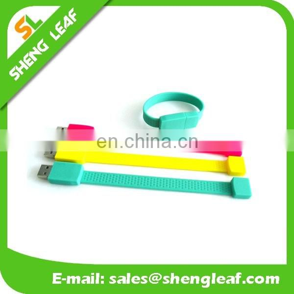 fashion silicone wristband usb/ special usb flash drives