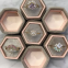 Hexagon Velvet Packaging Jewelry Box with With Factory Price