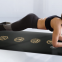 Natural rubber yoga mat  customized