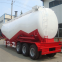 High capacity 40m3 cement tanker bulk powder tanker trailer for sale