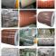 Wooden brick flower pattern factory Construction galvanized printed PPGI decorated roof wall prepainted wooden steel coi