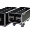 Wheels Flight Case With Drawe Wheels/plywood Flight Case Black Flight Case