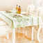 Thickened eco-friendly Degradable table cloth 5pcs