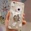 Pretty cell phone case cover soft tpu Silicone mobile Phone Cases for iPhone7/7Plus/6/6s/6plus/6splus with Ring Holder