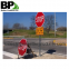 Multi-directional signage square roadway sign posts