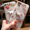 Beautiful ultra-thin Soft case Silicone mobile Phone Cases for  iPhone7/7Plus/6/6s/6plus/6splus with Ring Stand Holder