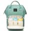 chinese manufacturer High Quality Polyester Portable Baby mommy Diaper Backpack With Stroller Hook