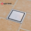 All sizes available customization popular bathroom stainless steel square long triangle rectangle round shower floor drain