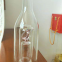 China glassware factory produced personalized glass bottles 750ml 500ml / glass bottle with glass stopper