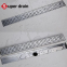 304 stainless steel washing machine kitchen outdoor toilet insert tile drain grille square  linear grid  shower floor drain Image