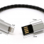 High quality oem mobile fast charging data cable for iphone android ,micro type-c magnetic usb charging cable bracelet u