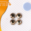 YHB 12 facet 209 Rose Gold  Crystal Flatbacks Rhinestones