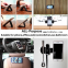 2018 Trending Products Rubber Sticker Flourish Lama 360 Magnetic Car Holder Waterproof Pad Rubber Funny Cell Phone