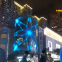 adhesive led display screen/transparent/ glass window/lightning