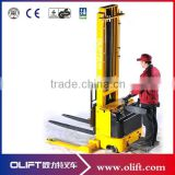 Olift EL 1.5 ton 3.3m full electric stacker (with CE)forklift electric straddle stacker