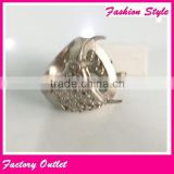 Indonesia gold ring designs for men gold finger rings base price with stainless steel