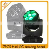 Mini Bee Eyes Moving Head 7x15w LED RGBW wash zoom led beam moving head 2016                                                                                                         Supplier's Choice