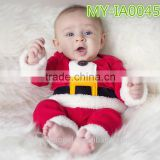 New Fashion China Manufacturer Christmas Baby Clothes Red Color For Boys And Girls MY-IA0045