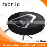 Cyclonic handheld robot vacuum cleaner with Virtual wall, Cleaning brush/good hoover vacuum cleaner Noise Level Less 50 DB