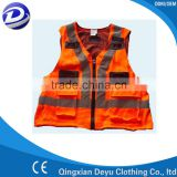 Fluorescent Reflective Safety vest or waistcoat