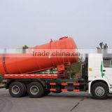 Cheap utility vehicle SINOTRUK HOWO waste removing vehicle (vacuum) sewage suction truck for sale