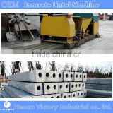 Precast reinforced concrete column extruder machine for small and medium business at home