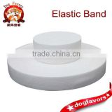 Plane elastic knit underwear elastic rubber band with white elastic band
