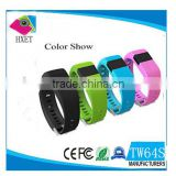 Factory Price TW64S Bluetooth Smart Watch Fitness Health Bracelet Heart Rate Pedometer Tracker