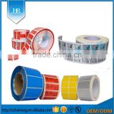 Paper Material and sticker label,self adhesive label feature roll label                                                                                                         Supplier's Choice