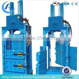 factory wholesale carton compress baler machine / plastic bottle baler machine / waste paper baler skype:sunnylh3