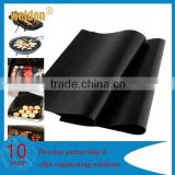 Hot selling USA market Barbeque Non-Stick liner BBQ grill mat Easy clean sheet Cook on Weber PFOA FREE