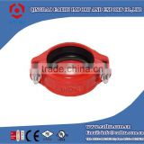 Ductile Iron Grooved Pipe Fittings Rigid Coupling