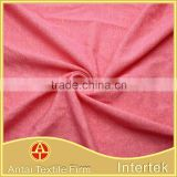 Breathable yarn dyed polyester viscose elastane jersey fabric for headband