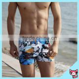 2015 summer swimwear mens' quick-dry board shorts boys and mens swimming trunks bench print men swimwear